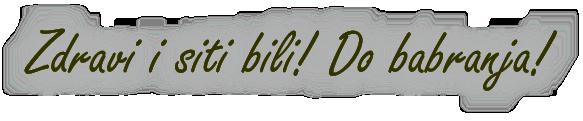 Tatin dnevnik - do babranja