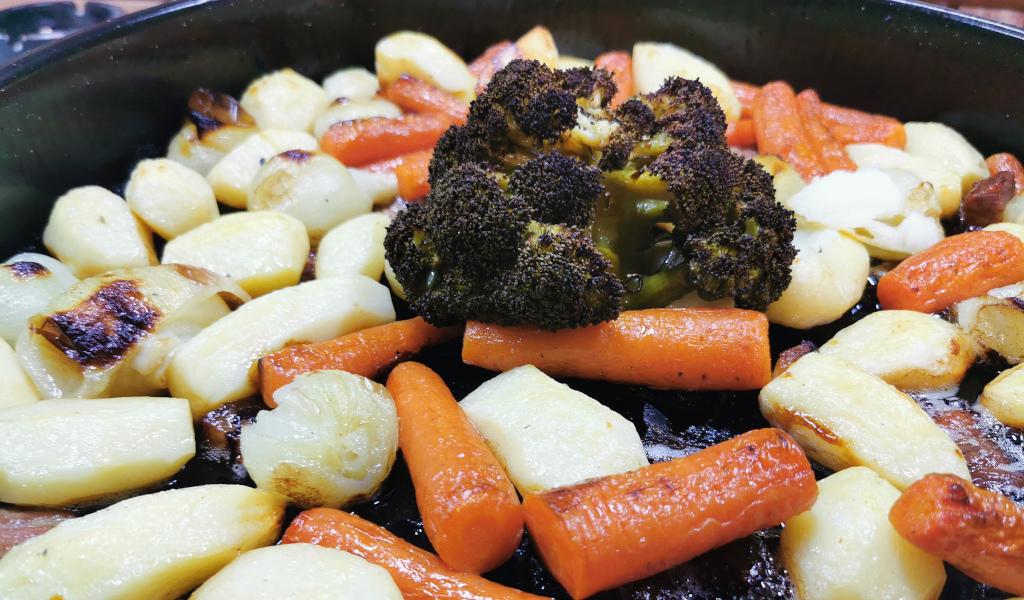 Povrće ispod peke