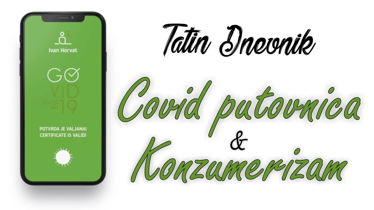 Covid putovnica i konzumerizam