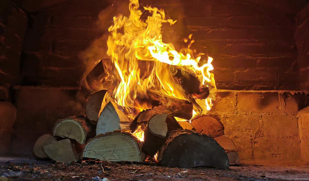 Vatra u pecari